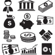 Banking icons — Stock Vector #10615091