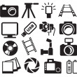 Cameras set — Stock Vector