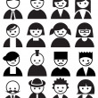 Faces — Stock Vector #10615102