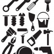 Tools set - Stock Vector