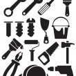 Tools set — Stock Vector #10615116