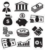 Banking-symbole — Stockvektor