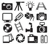 Cameras set — Stock Vector