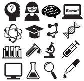 Bilim simgeler — Stok Vektör