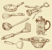Cooking doodles — Stock Vector