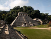 The pyramids at Palenque — Stock Photo
