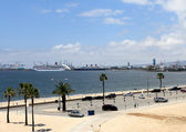 View of the Port of Los Angeles — Stock Photo