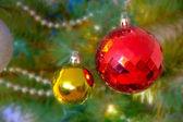 Julgran detalj — Stockfoto