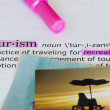 Tourism Definition — Stock Photo