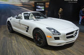 Mercedes Benz SLS AMG Roadster — Stock Photo