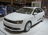 VW Jetta Hybrid — Stock Photo