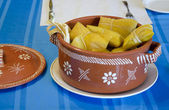 Pot of Tamales — Stock Photo