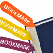 Royalty-Free Stock Photo: Bookmark your book