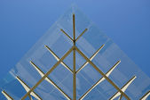 Metal and glass roof — Stock Photo