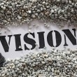 Vision -- Treasure Word Series — Stock Photo