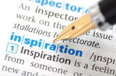 Inspiration - Dictionary Series — Stock Photo
