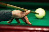 Russian billiard — Stock Photo