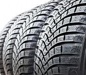 Tire Treads — Stock Photo
