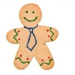 homme de pain d'épice — Photo