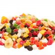 Stock Photo: Mixed dried fruits