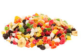 Mixed dried fruits — Stock Photo