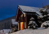Village in Carpathian Mountains. — Stock Photo