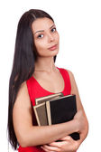 A student with books — Stock Photo