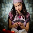 Royalty-Free Stock Photo: Fortune-teller predicing the cards