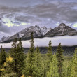 Scenic View Rocky mountains — Stockfoto