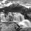 Athabasca Waterfall Alberta Canada — Stock Photo #8101573