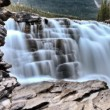 Athabasca Waterfall Alberta Canada — Stock Photo #8101575
