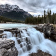 Royalty-Free Stock Photo: Athabasca Waterfall Alberta Canada