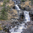Tangle Waterfall AlbertCanada — Stock Photo #8101658