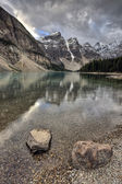 Morraine Lake Alberta — Stock Photo