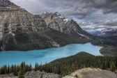 Peyto lake alberta kanada — Zdjęcie stockowe