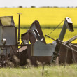 Vintage Farm Equipment — Stock Photo #9185555