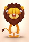 Cute Lion — Stock Vector