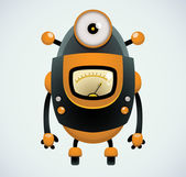 Cartoon Robot — Vector de stock