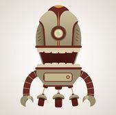 Retro Robot — Stock Vector