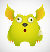 Cute Monster — Stock Vector
