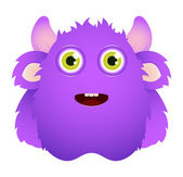 Purple Monster — Stock Vector