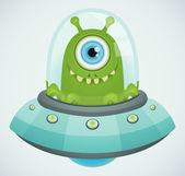 Ovni. alien. — Vecteur