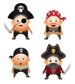Pirates — Stock Vector