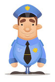 Police Officer — Stock Vector
