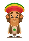 Rastafarian — Stock Vector