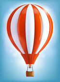 Heißluftballon — Stockvektor