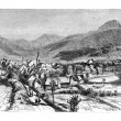 Town of Mont-Dore-les-Bains, vintage engraving. — Stock Photo #9082467