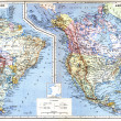 Map of North America — Stock Photo #9082829