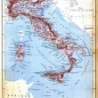 Royalty-Free Stock Photo: The map of Italy