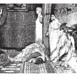 Caligula and Claude, painting by Alma-Tadema (see p 367). - Draw — Stock Vector #9084441